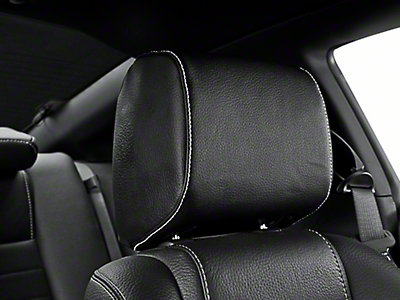 Tilting Headrest Black Vinyl - Pair (10-14 All)