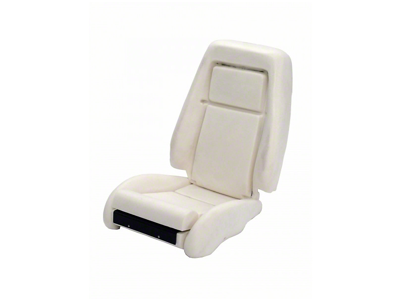 TMI Sport Seat Seat Foam w/ Knee Bolster - 26 in. Back (84-89)