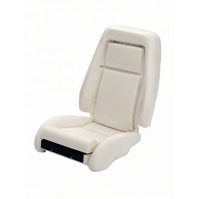 TMI Sport Seat Seat Foam w/ Knee Bolster - 26in Back (84-89)