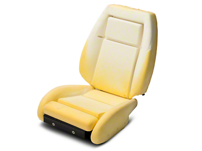 TMI Sport Seat Seat Foam w/ Knee Bolster - 24in Back (90-91)