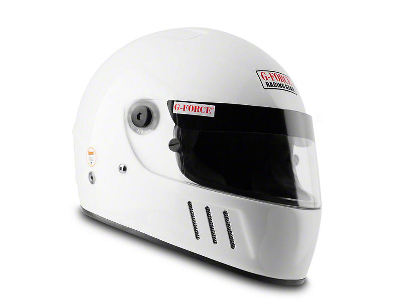 G-Force Pro Eliminator Helmet - Gloss White