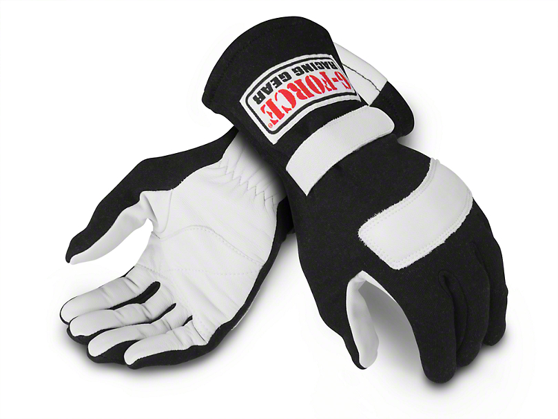 G-Force G1 RaceGrip Gloves - Black