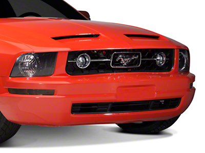 Pony Package Style Lower Front Bumper Grille (05-09 V6)