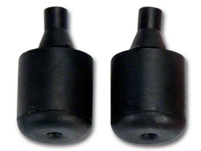 Deck Lid Stop Bumpers - Coupe / Convertible (79-93 All)