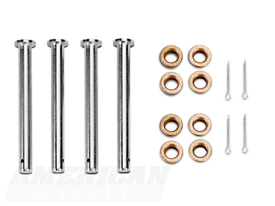Door Hinge Pin And Bushing Kit (79-93 All)