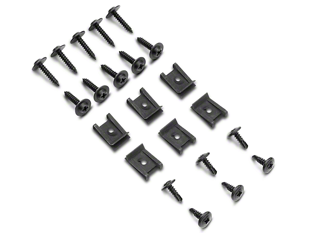 Inner Fender Splash Shield Hardware Kit (79-93 All)