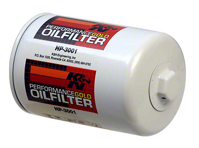 K&N Performance Gold Oil Filter (79-95 5.0L; 87-93 4cyl)