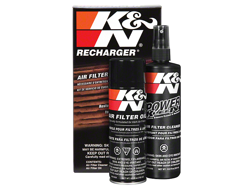 K&N Filter Recharge Kit (79-16 All)