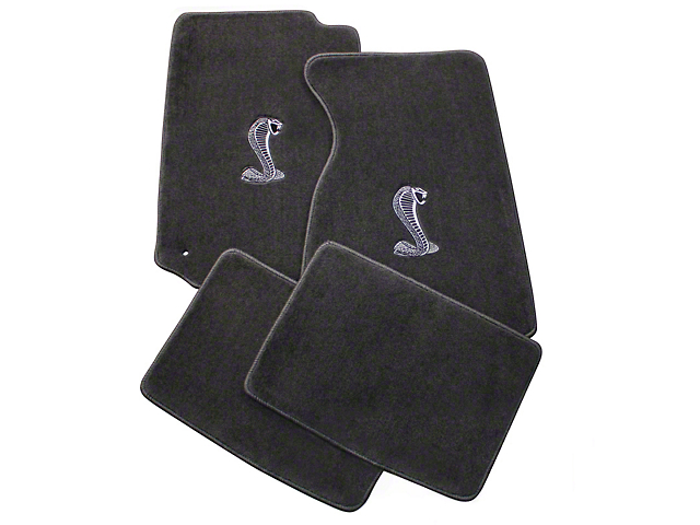 Lloyd Gray Floor Mats - Cobra Logo (99-04 All)