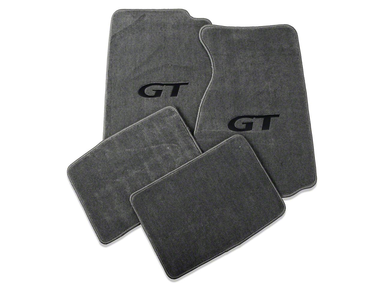 Lloyd Gray Floor Mats - Coupe - GT Logo (94-98 All)
