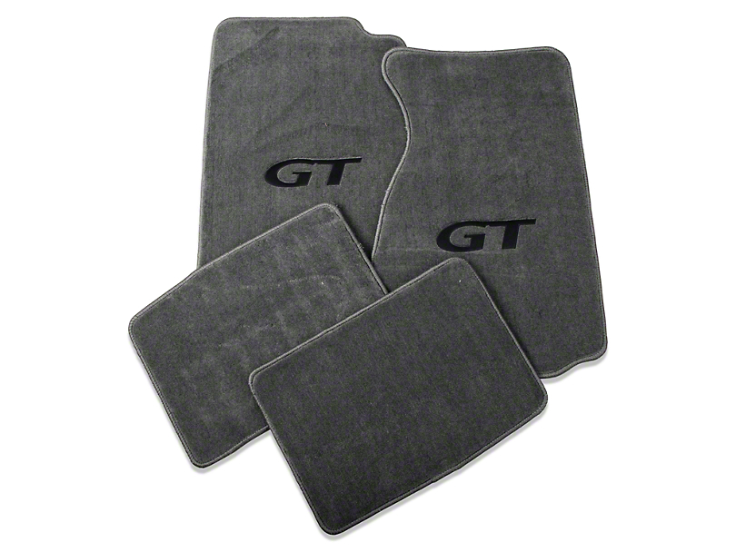 Lloyd Gray Floor Mats - GT Logo (99-04 All)