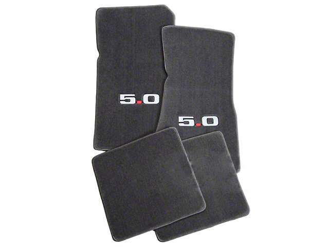 Lloyd Gray Floor Mats - 5.0 Logo (79-93 All)
