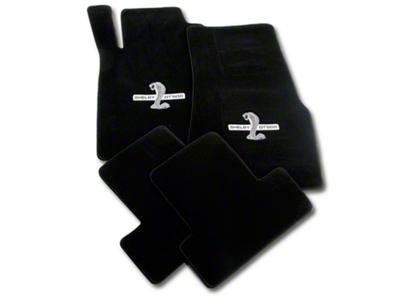 Lloyd Black Floor Mats - Shelby GT500 Snake Logo (11-12 All)