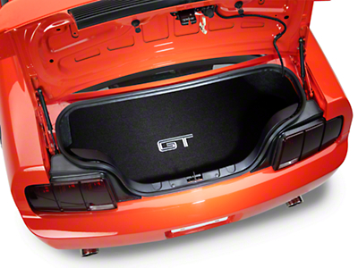 Trunk Mat - Embroidered GT (05-06 All)