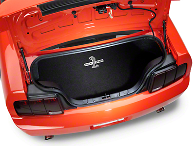 Trunk Mat - Embroidered Shelby GT500 (08-09 All)
