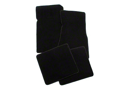 Black Floor Mats (79-93 All)