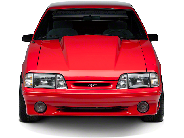 3 in. Cowl Hood - Unpainted (87-93 All)