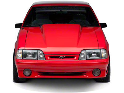 AmericanMuscle 3in Cowl Hood - Unpainted (87-93 All)