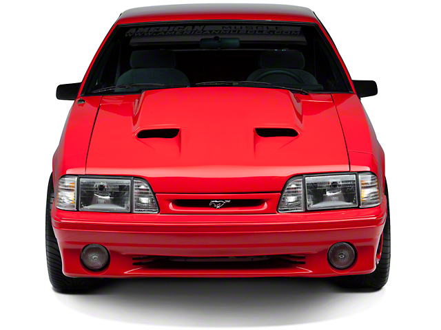 Mach 1 Style Hood - Unpainted (87-93 All)