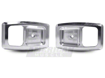Polished Billet Interior Door Handle Bezels (79-93 All)
