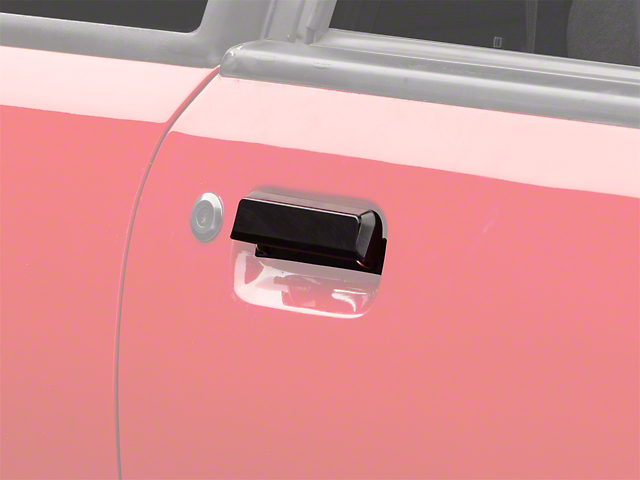 Gloss Black Exterior Door Handle - Right Side (79-93 All)