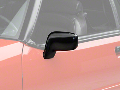 Power Mirror - Left Side - Convertible (87-93 All)