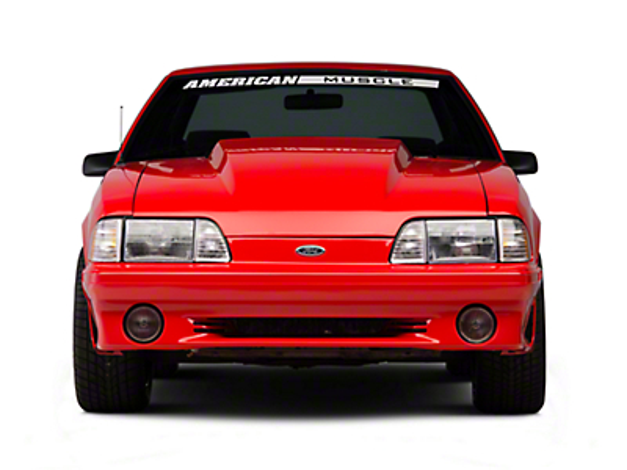 Front Bumper Cover - Unpainted (87-93 GT)