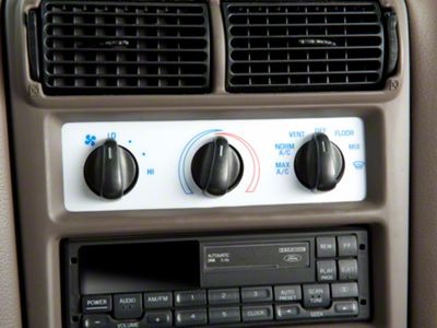 Add White A/C Gauge Face (94-00 All)