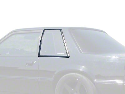 Quarter Window Molding Cover Kit - Coupe (87-93 All)