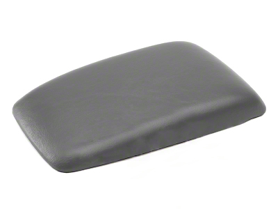 Center Console Arm Rest Pad - Titanium Gray (87-93 All)