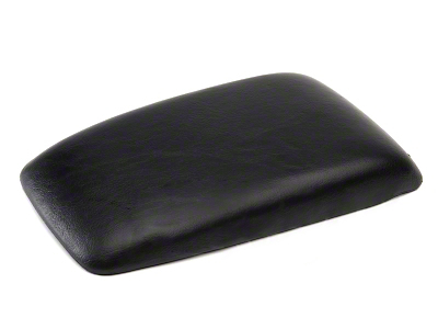 Center Console Arm Rest Pad - Black (87-93 All)