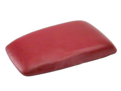 Center Console Arm Rest Pad - Red (87-93 All)