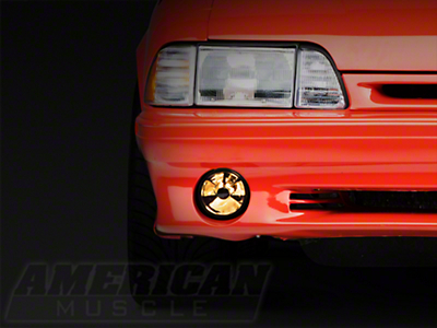 Ultra Clear Fog Light - LH/RH (87-93 GT)