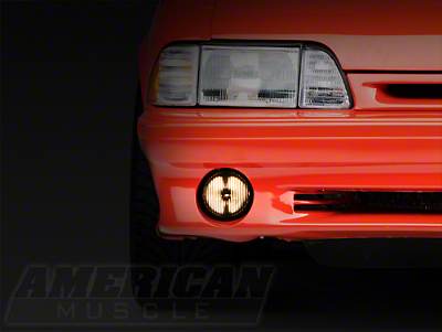Smoked Fog Light - LH/RH (87-93 GT)