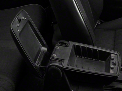 Center Console Arm Rest Pad Trim Panel Base (87-93 All)