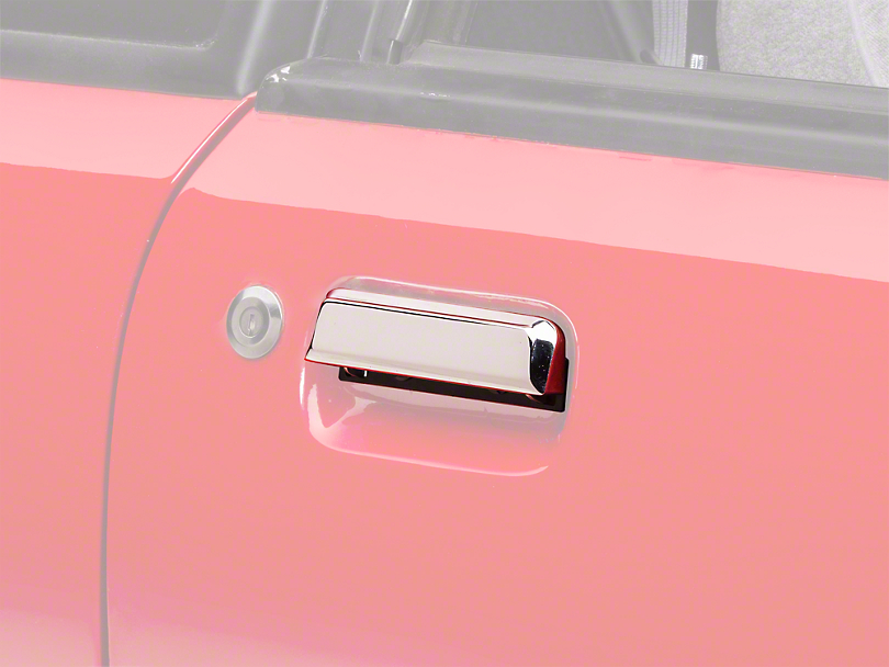 Chrome Exterior Door Handle - Right Side (79-93 All)