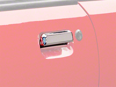 Chrome Exterior Door Handle - Left Side (79-93 All)