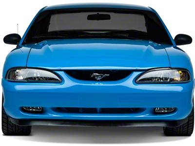 Front Bumper Cover - Unpainted (94-98 GT, V6)