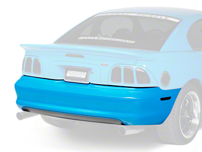 Rear Bumper Cover - Unpainted (94-98 GT, V6)