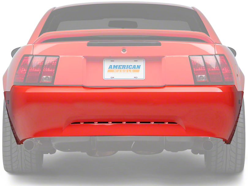 Rear Bumper Cover - Primed (99-04 V6)