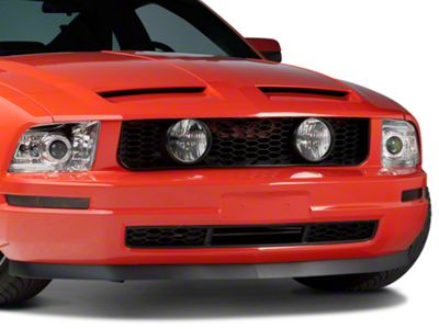 Add GT Style Pony Delete Grille w/ Fog Lights (05-09 V6)