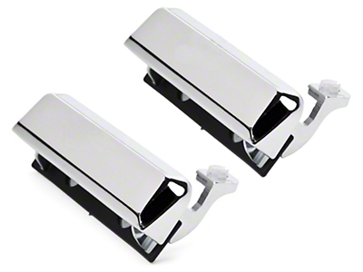 Chrome Exterior Door Handles - Pair (79-93 All)
