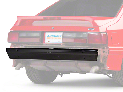 Rear Bumper Reinforcement Support (79-93 All; Excludes Cobra)