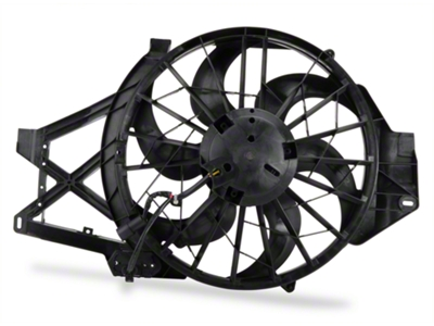 Radiator Fan Assembly (01-04 GT, Mach 1, Cobra)
