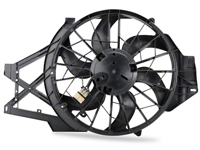 Radiator Fan Assembly (99-02 V6)