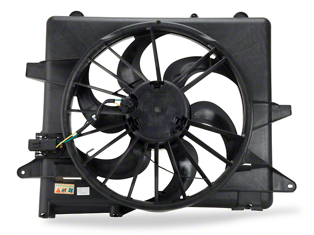 Radiator Fan and Shroud Assembly (05-09 GT, V6)
