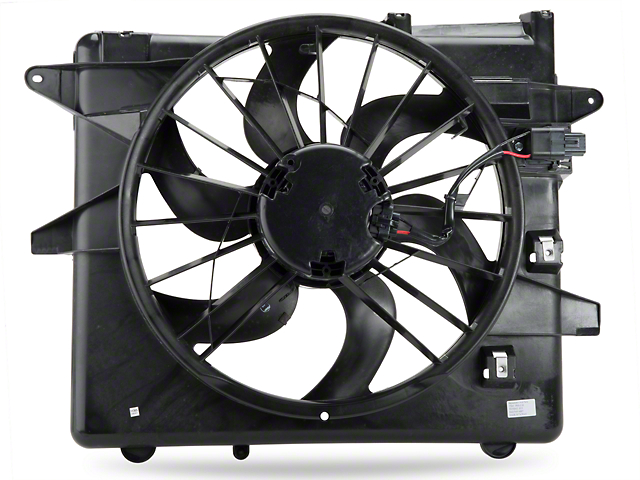 Radiator Fan and Shroud Assembly (10-12 GT, V6)