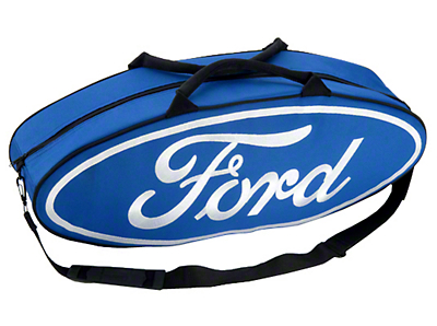 Blue Ford Logo Canvas Tote Bag