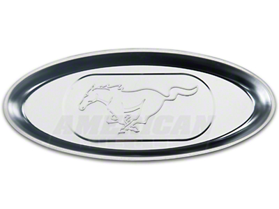 Stainless Steel Magnetic Parts Tray - Pony Logo
