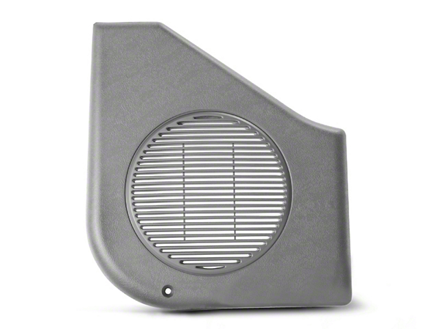 Titanium Gray Door Speaker Covers - Pair (87-93 All)